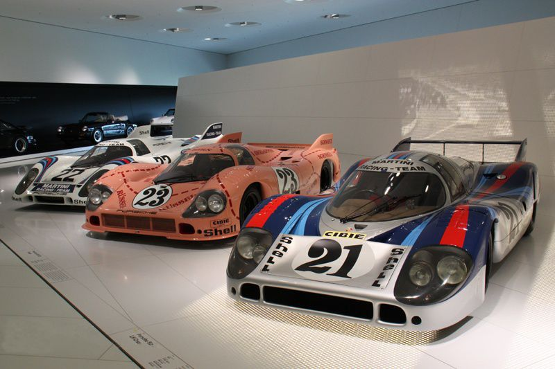 Porsche vehicles in each period_17